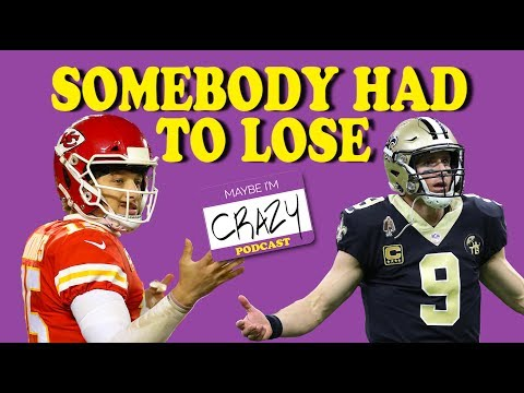 NFL Conference Championship Recap | MAYBE I'M CRAZY