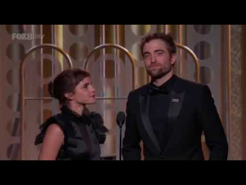 Emma Watson And Robert Pattinson Reunited To Present At The 75th Golden Globe Awards!!!