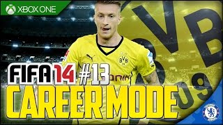 FIFA 14 XB1 | Dortmund Career Mode Ep13 - UNLUCKY FOR SOME!!