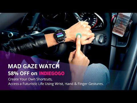 hqdefault - Mad Gaze watch: gesture control for your digital world