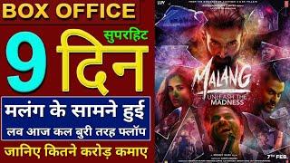 Malang Box Office Collection, Malang 9th Day Box Office Collection, Malang Full Movie Collection