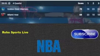 HEAT vs WARRIORS Live Now Sacramento 2018 - Score