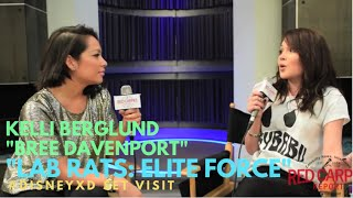 "Kelli Berglund on set with Disney XD's new series ""Lab Rats: Elite Force"" #DisneyXD #LabRats"