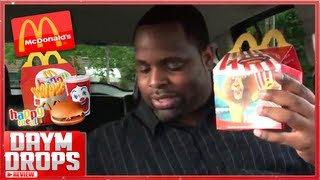 One of Daym Drops's most viewed videos: McDonalds Happy Meal Review