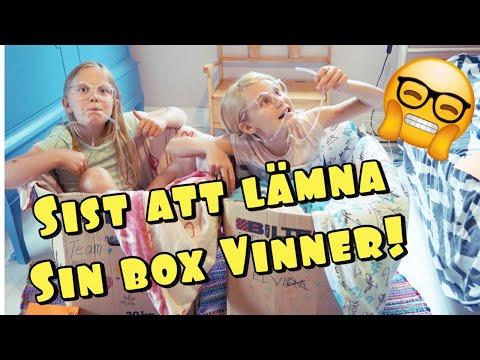 Sist att lämna sin box VINNER!!!
