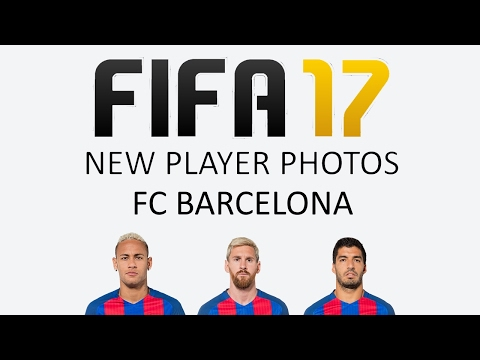 New Barcelona Player Photos | FIFA 17 Update