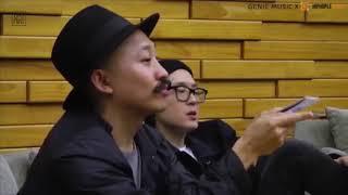 DUMBFOUNDEAD on Genie Music x HIPHOPLE Livestream ft. FM, Jessi, DPR LIVE (English Sub)