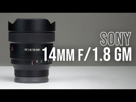 Sony Announces 14mm f/1.8 GM Lens; More Info at B&H