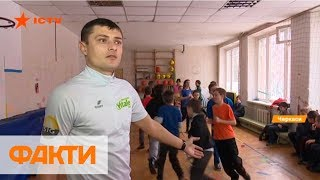 В Черкассах уроки физкультуры проводят в коридорах и библиотеке