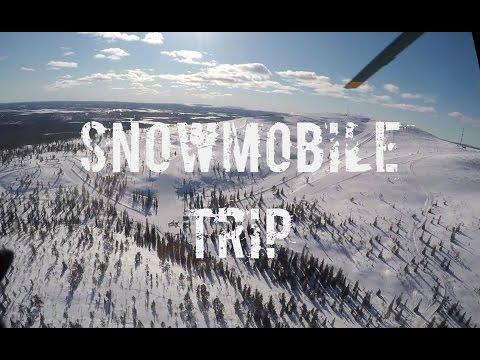 Levi 2017 Snowmobile Trip