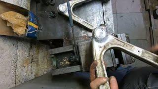 Ремонт  алюминиевых рычагов Hummer H3