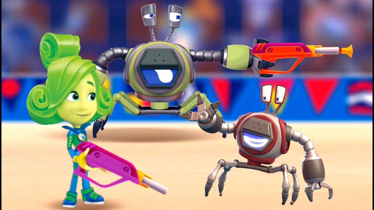 Картинки из мультфильма фиксики против роботов