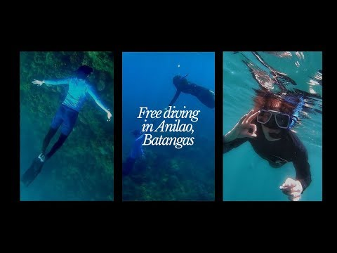 Goodbye Life Vest   First Time Freediving In Anilao, Batangas