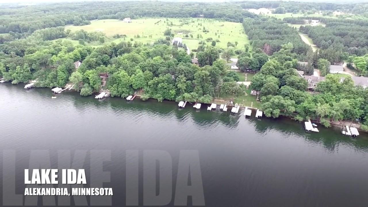 Lake Ida in Alexandria, Minnesota