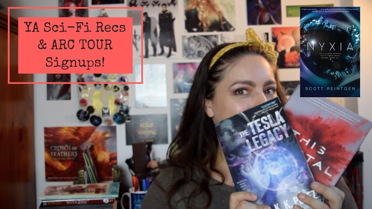 Great New Ya Sci Fi Recommendations The Tesla Legacy Arc Tour Signup