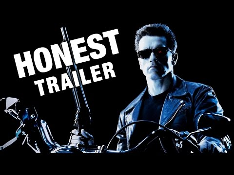Honest Trailers   Terminator 2 Judgment Day Movie Poster