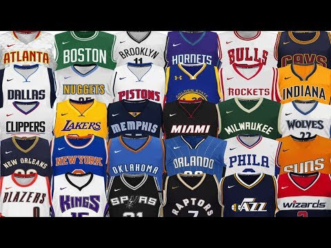 Ranking Every NBA Team's Uniform From WORST To FIRST