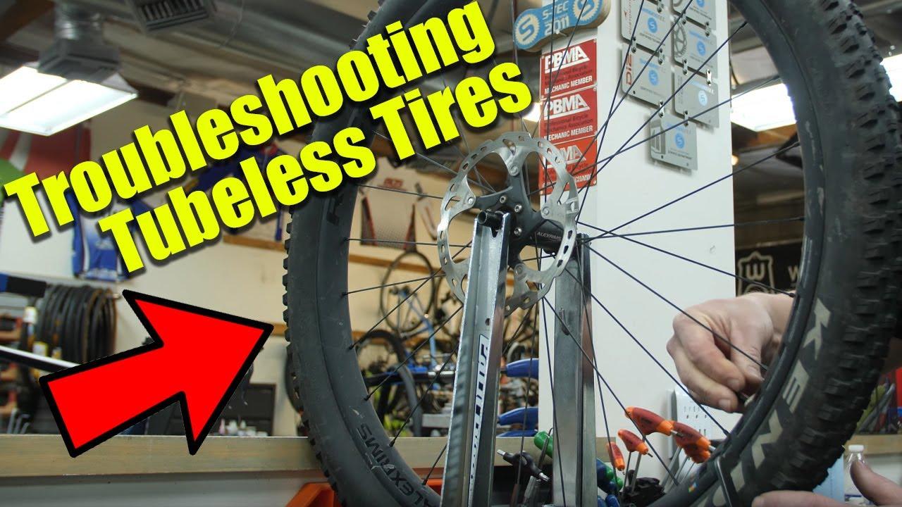 Troubleshooting Tubeless Wheels - Mountain Bike Action Magazine