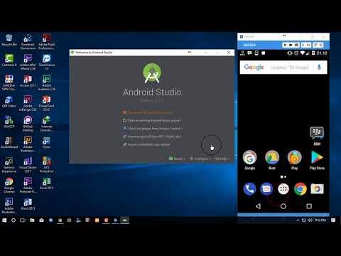 Tutorial Dasar Android Studio - Debug / Run langsung ke HP Android- #2