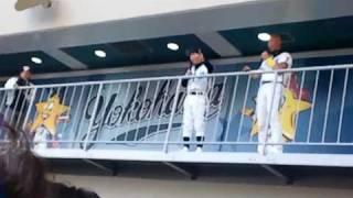 横浜ベイスターズ2011開幕戦、対中日5-4サヨナラ勝利のYYパーク第二ヒー...
