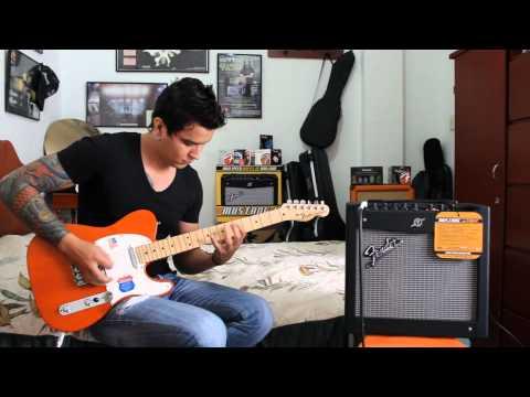 Fender Mustang I amp 20w.wmv