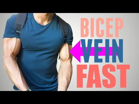 How to Get Your Bicep Vein to Show | Sexy Arms FAST