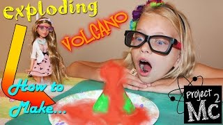 Project MC2 Exploding Volcano Experiment + Lab Kit & Secret Journal!