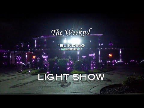 The Weeknd - Blinding Lights (Light Show)