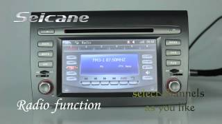 wince 6 0 fiat bravo car cd dvd player upgrade with radio gps navigation system bluetooth usb ipod m