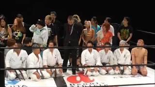 プロレスで有名なジャガー横田さんの挨拶動画です。 プロレスの試合はも...