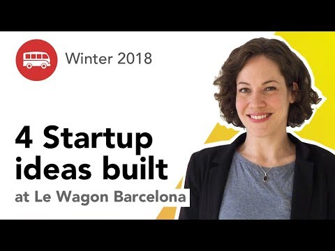 What can you build after a Coding Bootcamp? | Final Projects Le Wagon Barcelona