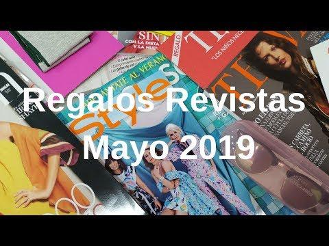 Regalos revistas mayo 2019