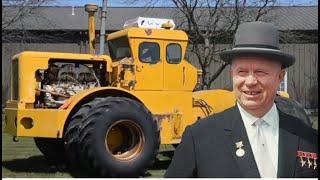 Лучшая идея Хрущева. Мощный трактор К-700, до сих пор лучший в мире