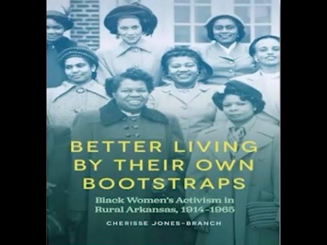 Dr. Cherisse Jones-Branch writes new book Black Women's Activism in Rural Arkansas
