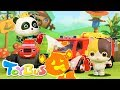 Super Panda Rescue Team   Cooking Pretend Play   Play Doh for Kids   Kids Toy   Kids Cartoon  ToyBus
