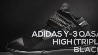 48dd01af3ff ADIDAS Y-3 QASA HIGH (TRIPLE BLACK)   PEACE X9 ...