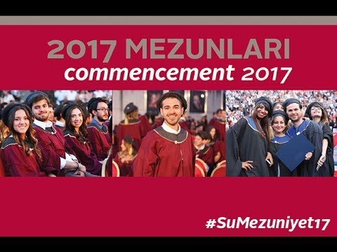 Sabanci University Commencement 2017