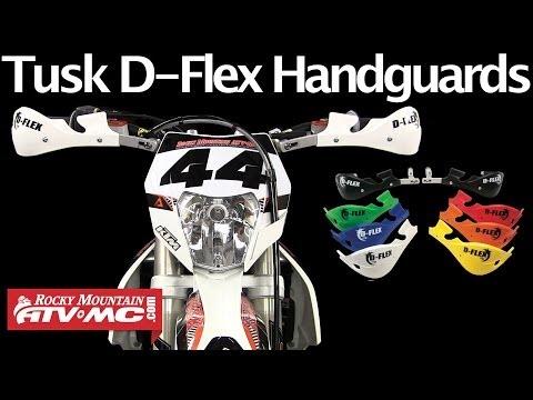 Tusk MX D-Flex MC Handguards Black