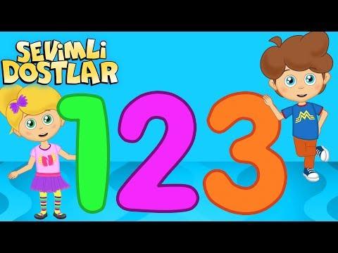 Sayılar - Sevimli Dostlar çizgi film çocuk şarkıları 2017 - Adisebaba TV Bebek Şarkıları