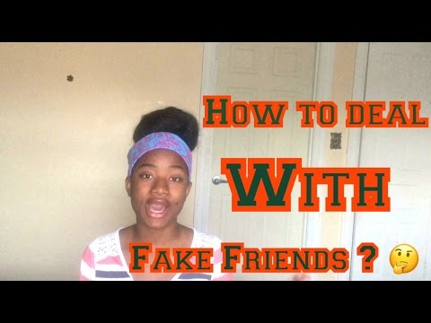 GIRL TALK/Advices: How To Spot A Fake Friend thumbnail