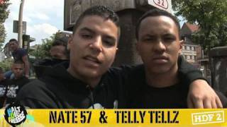 NATE57 & TELLY TELLZ  HALT DIE FRESSE 02 NR. 49 (OFFICIAL HD VERSION AGGROTV)