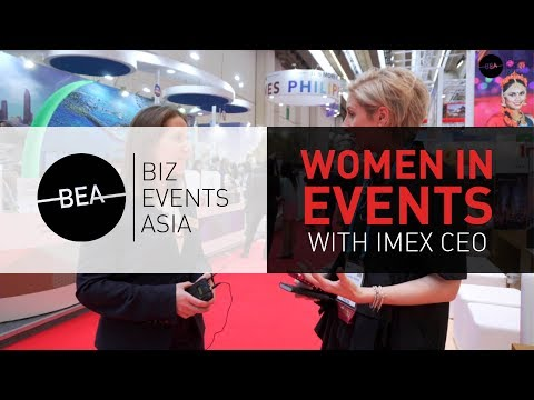 Women in events with IMEX CEO Carina Bauer