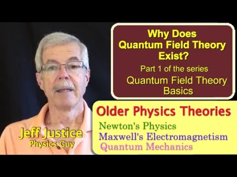 QFT1   Why Quantum Field Theory Exists