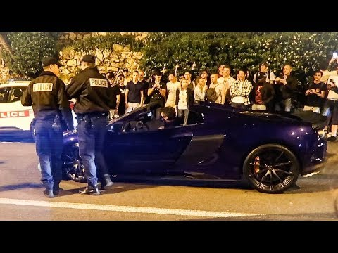 Chaos In Monaco! - *Police vs Car Spotters*