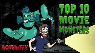 Top Ten Movie Monsters - THORGIWEEN