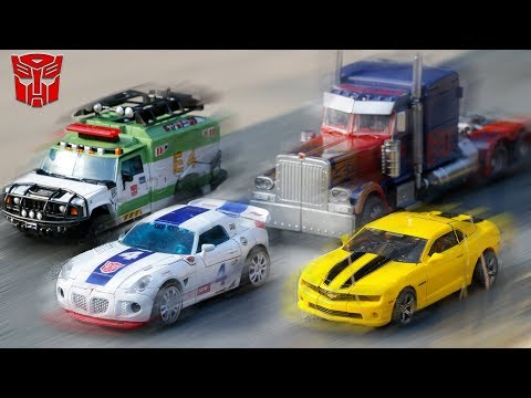 Transformers Movie Autobots Optimus Prime Bumblebee Jazz Ratchet Vehicle Car Robots Toys