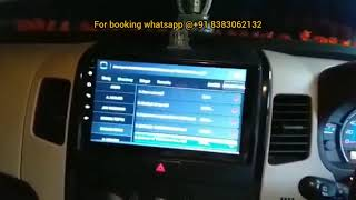 Touch Screen Android 8.1 radio GPS Navigation for Suzuki Wagonr car stereo
