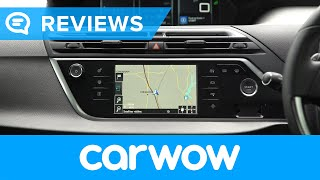 Citroen Grand C4 Picasso 7 Seater 2018 infotainment and interior review | Mat Watson Reviews