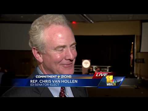 Video: Rep. Chris Van Hollen replaces retiring Sen. Barbara Mikulski