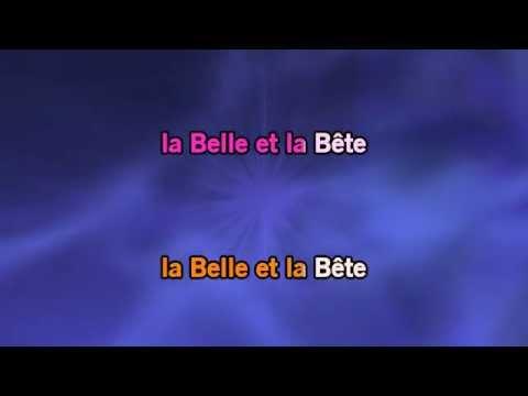 Karaoké La Belle Et La Bête - Beauty And The Beast *